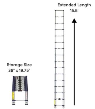 Xtend Climb Pro Series 785P Telescoping Ladder 00