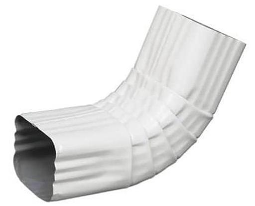 Amerimax White 22A22 Downspout Elbow