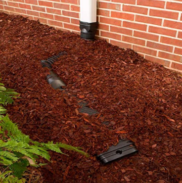 Low Profile Downspout Adapter Drainage Kit with Extension 01